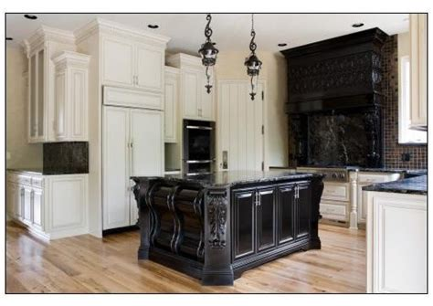 black  white traditional kitchen traditional