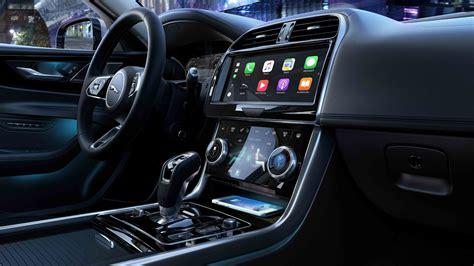 jaguar xe    technology   interior