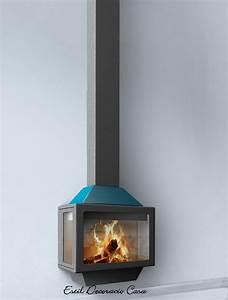 Poele A Bois Suspendu : cheminee suspendue murale prix ~ Zukunftsfamilie.com Idées de Décoration