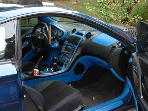 Nice Interior Paint For Cars #2 Black And Blue Splatter