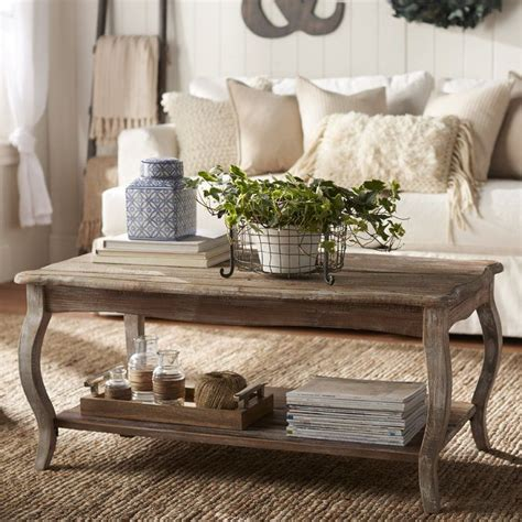 Find things that appeal to you and make you happy. Francoise Solid Wood Coffee Table with Storage | Coffee ...