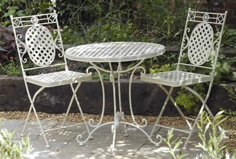 garden table and chairs garden metal bistro table