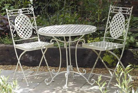 garden furniture and patio furniture bistro sets metal