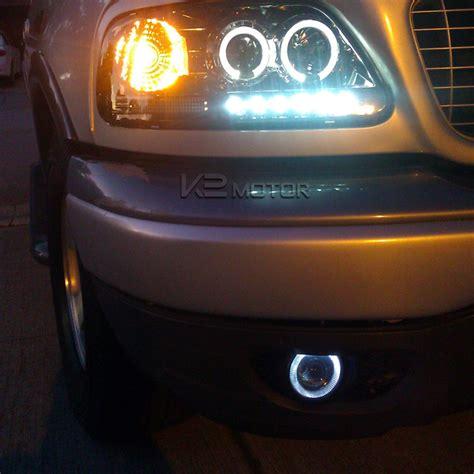 7 color halo 4 quot projector drl fog lights bumper l switch 684758607423 ebay