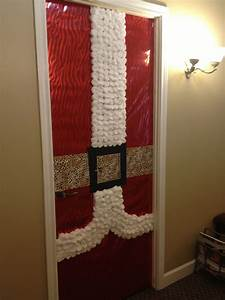 Christmas Door Decor At Office Christmas Pinterest