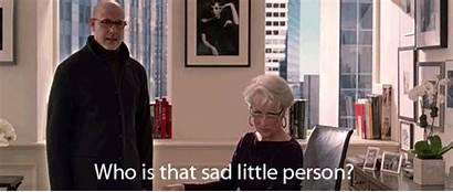 Prada Devil Wears Person Gifs Quote Sad