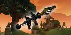 Fortnite U0026 39 S Rpg Is Being Hit With A Huge Nerf