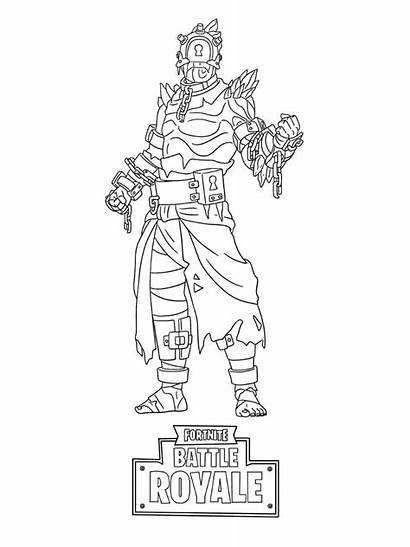 Fortnite Coloring Pages Printable Skin Sheets Dessin