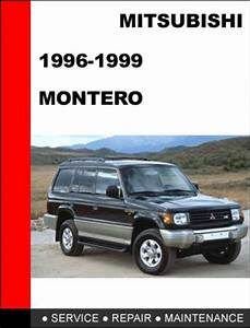 Service Manual  1996 Mitsubishi Montero Workshop Manuals