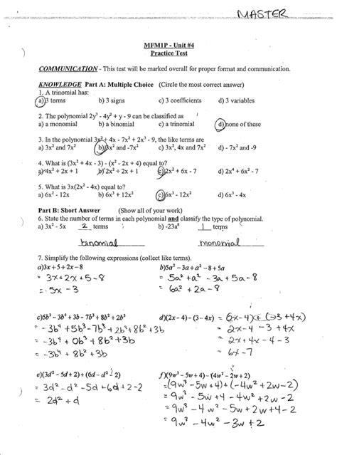 year 9 maths tests and answers math bifs grade 5