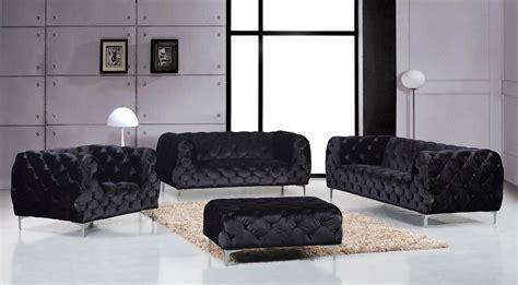 tufted velvet loveseat jamari contemporary black button tufted velvet sofa