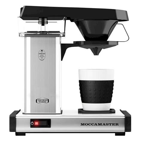 The 5 best drip coffee machines of 2021: Moccamaster Cup-One: single serve, pod free coffee brewer | Percolator coffee, Coffee brewer ...