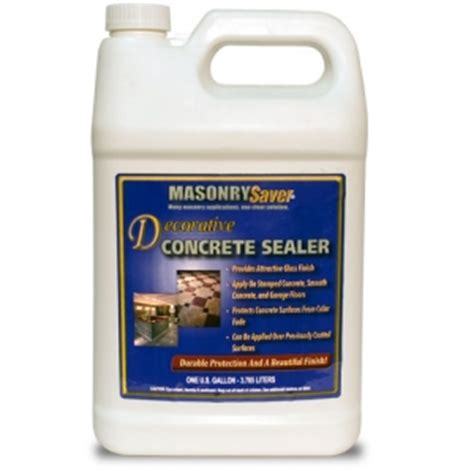 decorative concrete sealer concrete sealing ratings