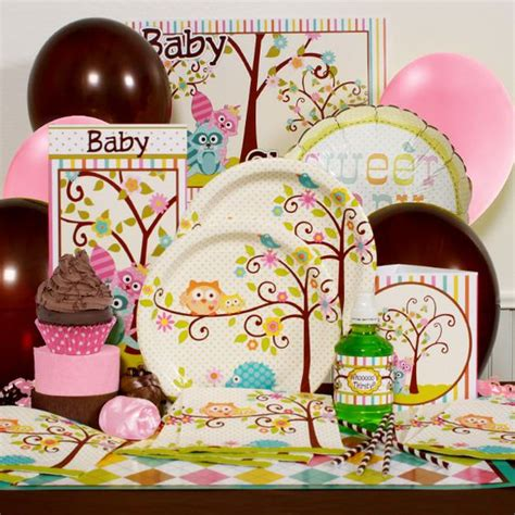 owl baby shower plates and napkins owl baby showers owl babies and baby shower decorations