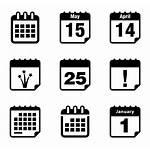 Calendar Icon Schedule Icons Vector Date Transparent