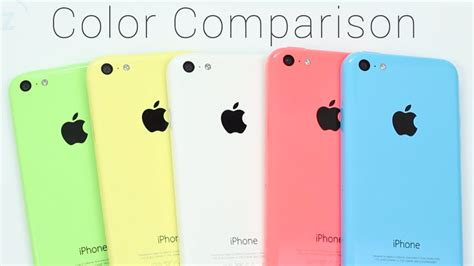 colors of iphone 5c iphone 5c color comparison green yellow white pink or