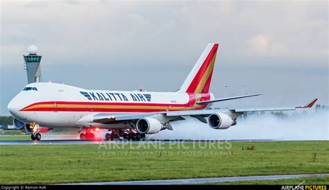 N403KZ - Kalitta Air Boeing 747-400F, ERF at Amsterdam ...
