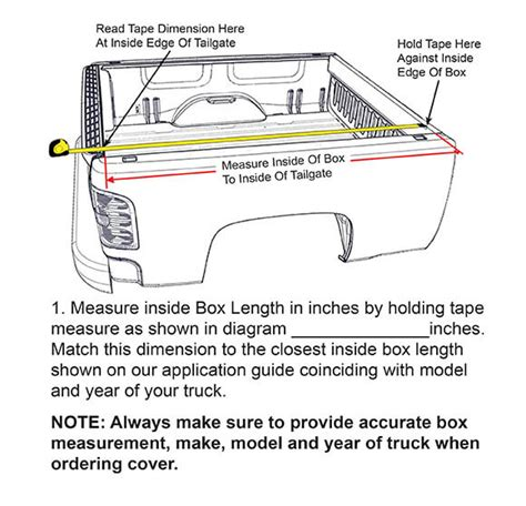 pickup truck bed dimensions chart roole