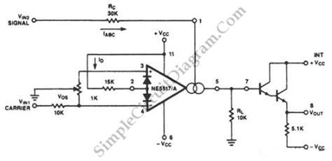 Amplitude Modulator With Ota Simple Circuit Diagram