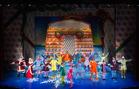 elf  musical brings holiday cheer  triangle
