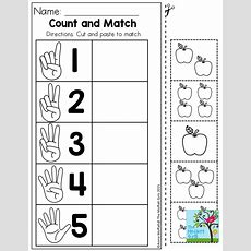 Number Sense! Cut And Paste To Match Tons Of Great Printables To Help Master Basic Skills