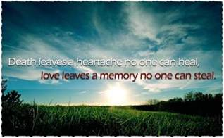 quotes about a loss of a loved one