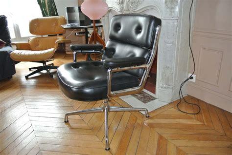 fauteuil lobby chair charles eames l atelier 50 boutique vintage achat et vente mobilier