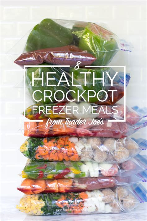 healthy crock pot meal 8 healthy crockpot freezer meals from trader joe s in 65 minutes money saving mom 174