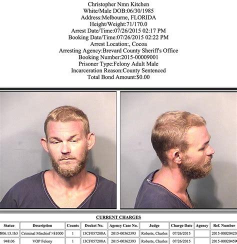 arrests  brevard county july