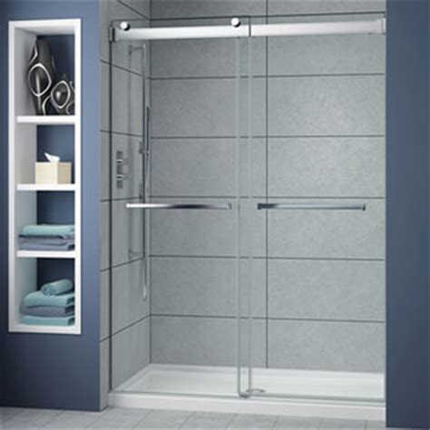 frameless bypass shower doors creative mirror shower