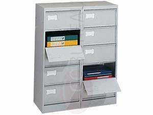 Meuble à Cases : meubles clapets metal 5 cases ~ Teatrodelosmanantiales.com Idées de Décoration