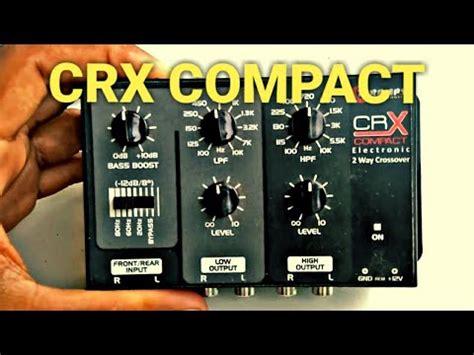 crossover tars crx compact duas vias youtube