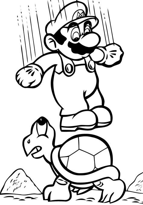 See more ideas about coloring pages, mario coloring pages, super mario coloring pages. Mario - Mario Bros Kids Coloring Pages