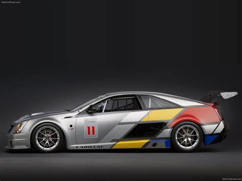 cadillac cts  coupe race car  picture