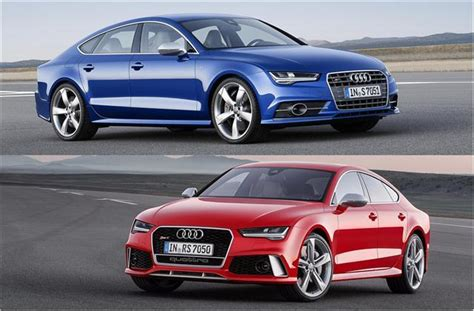 2018 Audi S7 Vs 2018 Audi Rs 7 Worth The Upgrade? Us