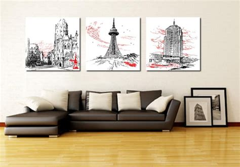 20 Collection Of Three Piece Wall Art Sets