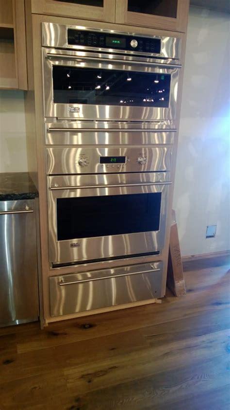 ge monogram   speed oven storage drawer