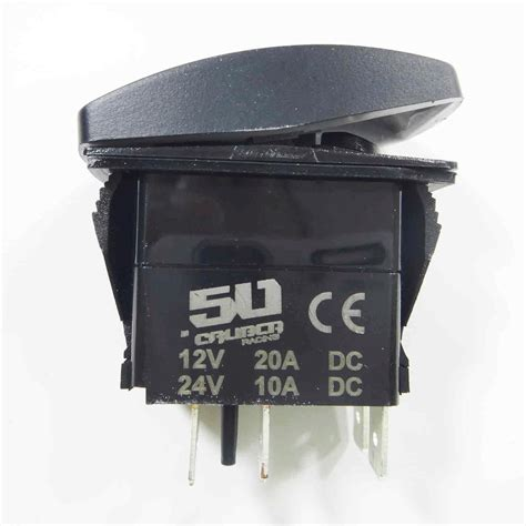 Off Rocker Switch Spst Waterproof Automotive