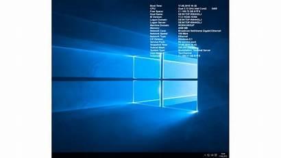Bginfo Windows Als Desktop Hintergrund System Zeigt