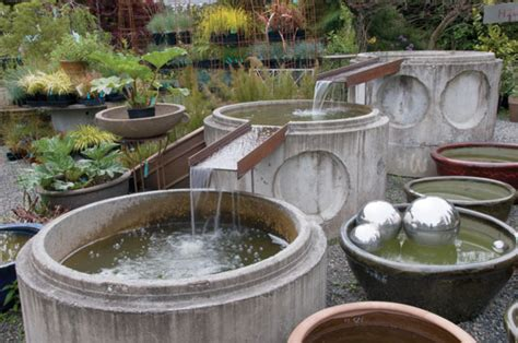 build your own outdoor water make your own garden water feature diy mother earth news
