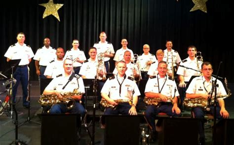 army jazz band  perform  fowler center