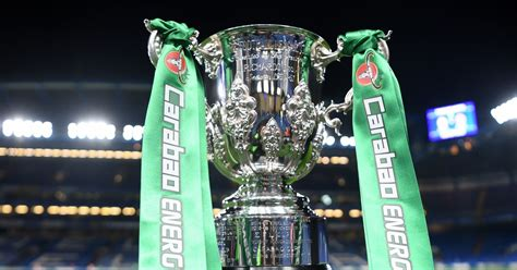 Carabao Cup fourth round draw: TV channel, ball numbers as ...