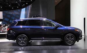 Infiniti QX60 Shows Restyled Exterior In Detroit