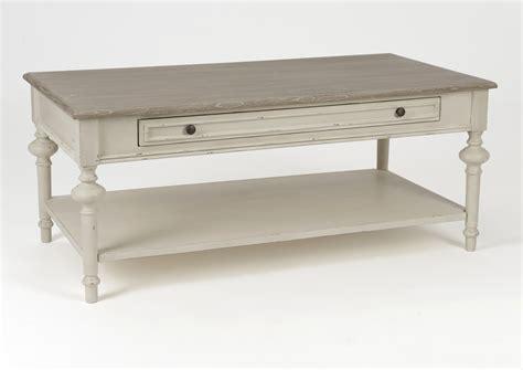 table basse en bois massif pas cher indogate salon blanc gris bois