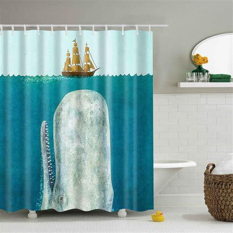 Waterproof Shower Curtains by Fabric Waterproof Bathroom Shower Curtain Animals Printing