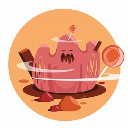 Sugar Rush Digital Behance Illustrations Sweet Series