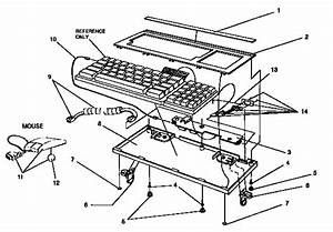 Keyboard Assembly Diagram  U0026 Parts List For Model Pwp6000plus Smith