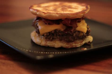 recipe pancake burger james  burger