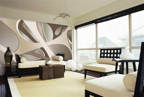 Muster Tapete Wohnzimmer by Tapeten Braun Beige Muster Attraktive Ausgefallene D