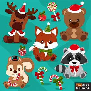 New Christmas Clipart Sets & 60% sale! – MUJKA CHIC BLOG